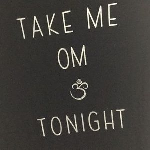Take Me Om Tonight Graphic Muscle Tee